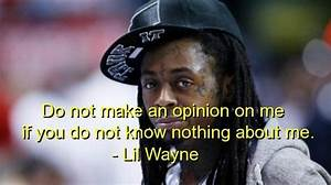 Birthday Quotes... Lil Wayne Wise Quotes