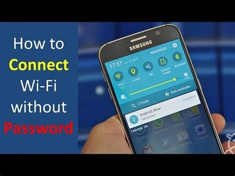 how to connect wifi without password in android 100 woking youtube