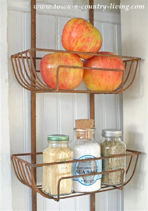 Kitchen wall baskets     Kitchen ideas