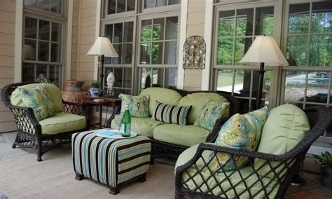 Back Porch Furniture, Front Porch Furniture Decorating