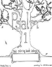 psalm  coloring book ministry  childrencom
