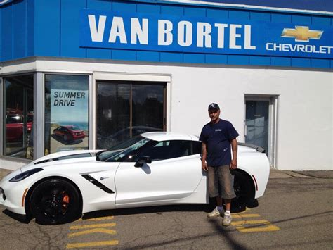 chevrolet corvette customer testimonials van bortel