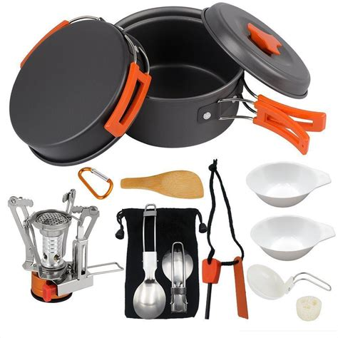 survival camping gear backpacking cookware hiking outdoors utensils prepare collapse economic