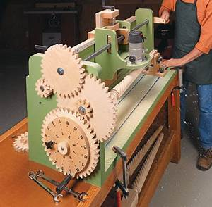 Router Jig: Milling Machine Woodsmith Plans