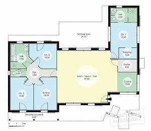 maison architecte plan maison moderne m maison moderne m With amazing modele de plan maison 13 architecte au maroc