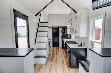 beautifully designed tiny house  luxury kitchen  spacious living area idesignarch