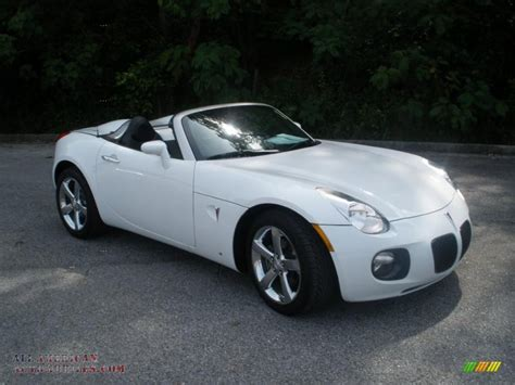 2007 Pontiac Solstice Gxp Roadster In Pure White 138906