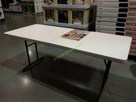 folding picnic table costco 6ft folding table costco lifetime 6ft fold in half table