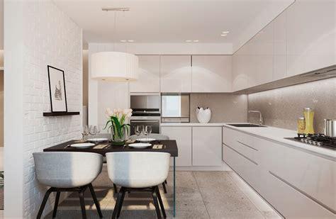 minimalist kitchen interior design warm modern interior design 7518
