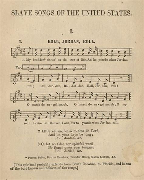 songs  slave resistance oviatt library