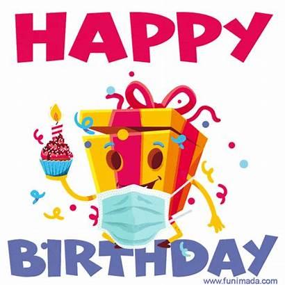 Birthday Happy Stay Safe Funimada Cake Gifs