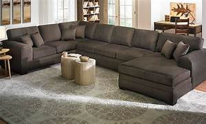 Sophia Oversized Chaise Sectional Sofa The Dump Luxe