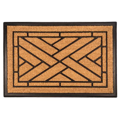recycled rubber flooring home depot entryways diagonal tiles 24 in x 36 in recycled rubber