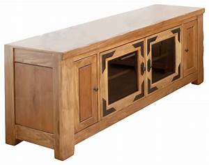 Artisan home lodge 100 60 inch wide tv stand with media for 100 inch media console
