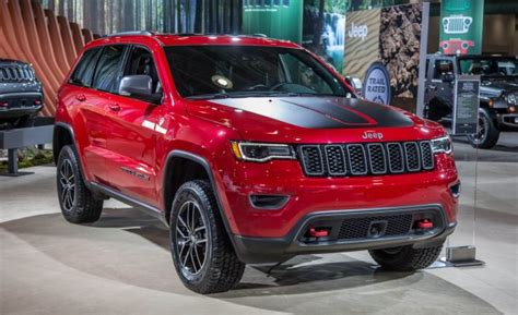 Off Road Focused 2017 Jeep Grand Cherokee Trailhawk Debuts