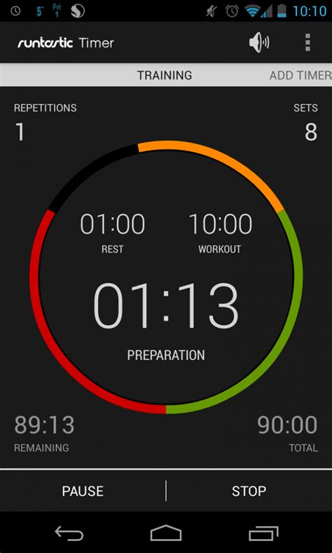 android timer runtastic adds timer to their app portfolio not just a