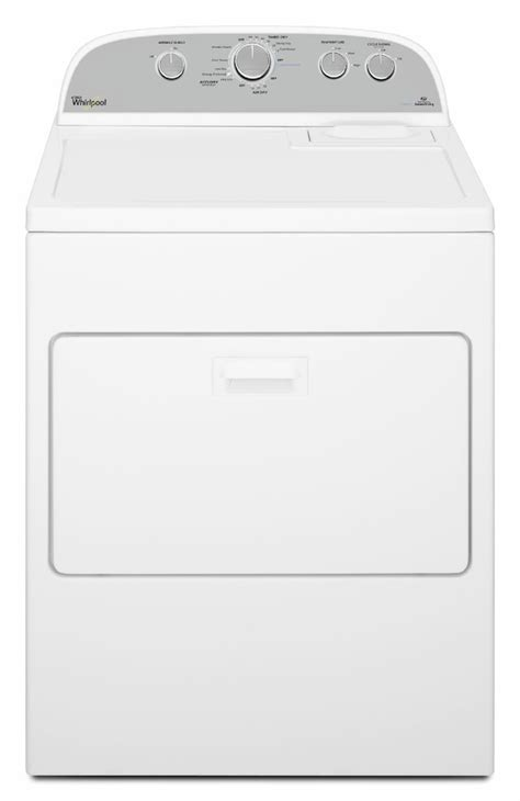 whirlpool  cu ft white front load electric dryer wedstbw texas appliance