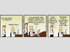 Time Management a'la Dilbert CloudAve