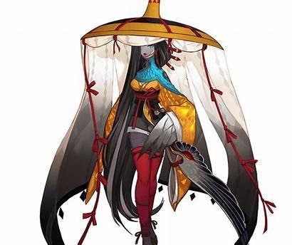 Onmyoji Ubume Shikigami Character Female Characters Powerful