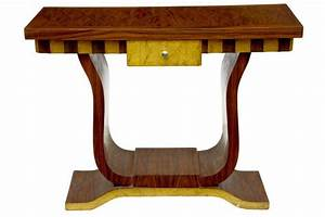 Funky Art Deco Inlay Hall Table Console Tables Dressing