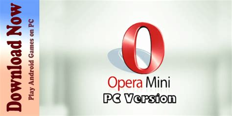 Download now prefer to install opera later? Opera Mini Browser For PC Windows 10/ 8 - Free Download