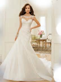 bateau neckline wedding dress a line wedding dress with bateau neckline