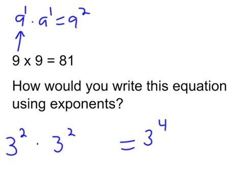 Exponents Product Rule Examples