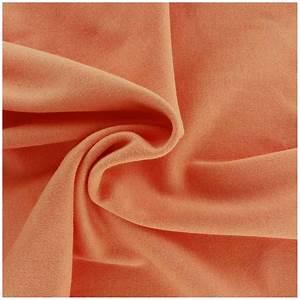 Tissu 100 Coton : tissu jersey uni 100 coton orange clair x 10cm ma petite mercerie ~ Teatrodelosmanantiales.com Idées de Décoration
