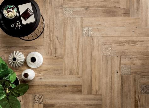 medium angled wooden floor tiles interior design ideas