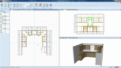 planit kitchen design software drawing walls and objects in cabinet vision 4256