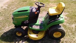 2003 John Deere L100 Lawn  U0026 Garden And Commercial Mowing