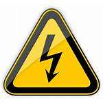 Warning Sign Voltage Clipart Caution Transparent Signs
