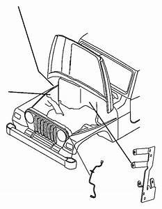2010 Jeep Wrangler Wiring  Jumper  Side Marker Lamp  Side