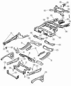Chrysler 300 Subframe  Rear Axle   5 7l V8 Hemi Mds Vvt Engine