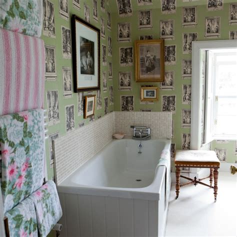 bathroom wallpaper ideas uk bathroom with wallpaper traditional bathroom