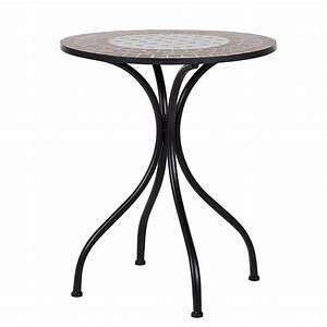 Petite Table Ronde De Jardin : beautiful table de jardin ronde ceramique images amazing ~ Dailycaller-alerts.com Idées de Décoration
