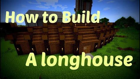 minecraft   build viking longhouse youtube