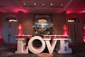 reception decor photos love escort card table inside With letter table base rental nyc