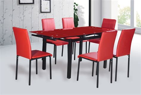 Modern Extendable Tempered Glass Dining Table  Buy Glass