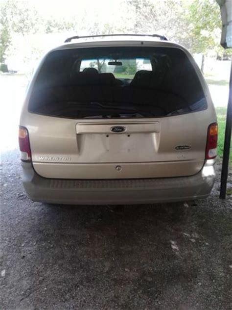 buy   ford windstar lx mini passenger van  door