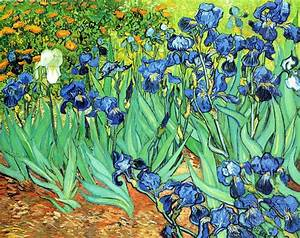 Irises - Post Impressionist Vincent Van Gogh Art Wallpaper ...