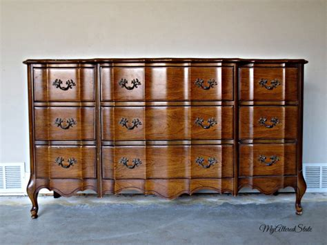 refinished french provincial high gloss furniture