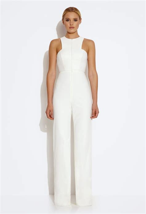 formal white jumpsuit 25 best ideas about white jumpsuit on white