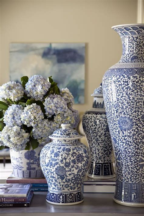 Decorating With Blue and White   A Perennial Spring