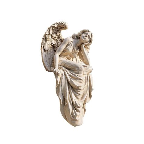outdoor angel statues statues sculpture garden decor yard outdoor resin sitting large home ebay