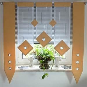 Küche Vorhänge Modern : vorh nge modern k che home image ideen ~ Michelbontemps.com Haus und Dekorationen