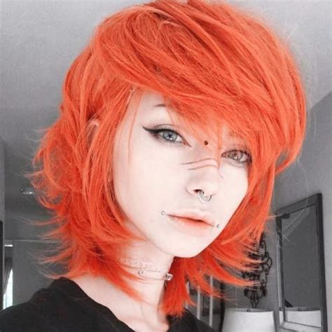30 Creative Emo Hairstyles And Haircuts For Girls In 2018