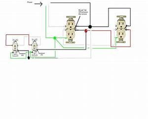 How To Wire A Light Switch And Outlet Combo Diagram Wiring