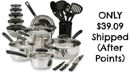 cookware sears shipped graduation points idea piece gift hip2save