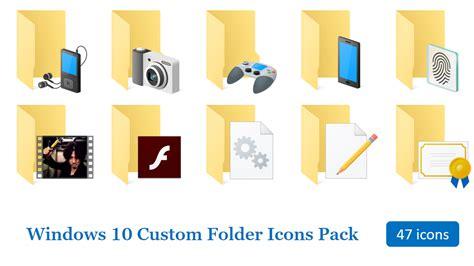Windows 10 Custom Folder Icon Pack By Terraromaster On